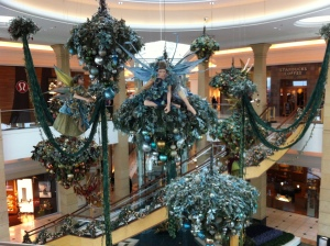 Holiday fairy decorations